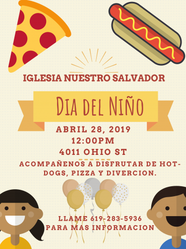 DAY OF THE CHILD | DIA DEL NIÑO @ Our Savior's Lutheran Church | San Diego | California | United States